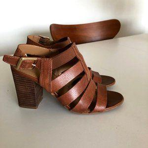 franco sarto block-heeled sandal